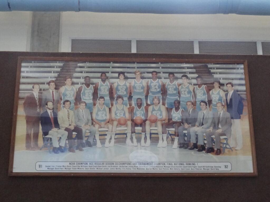 1981-1982 UNC Basketball