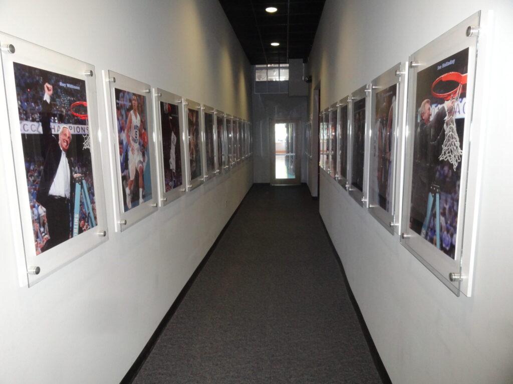 Carolina Basketball Museum Exit