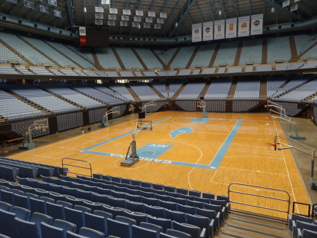 Dean Smith Center Court