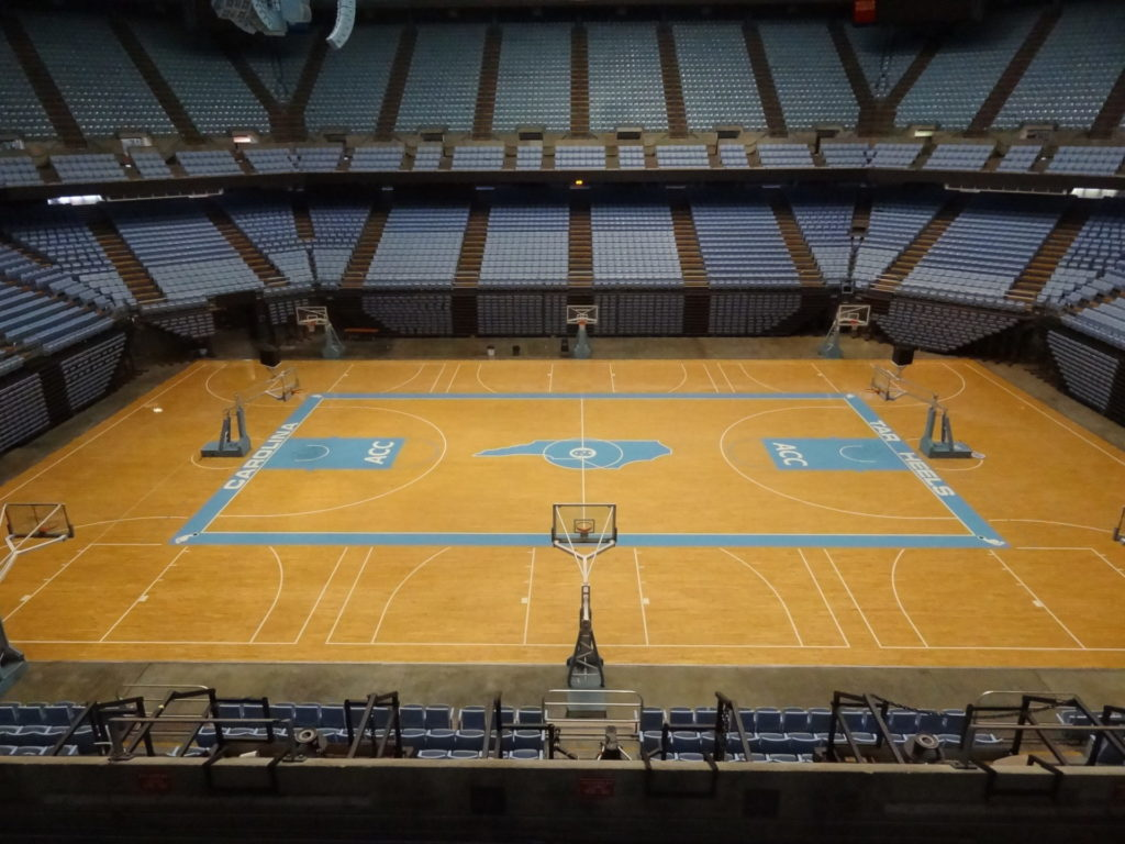 Dean Smith Center Court2