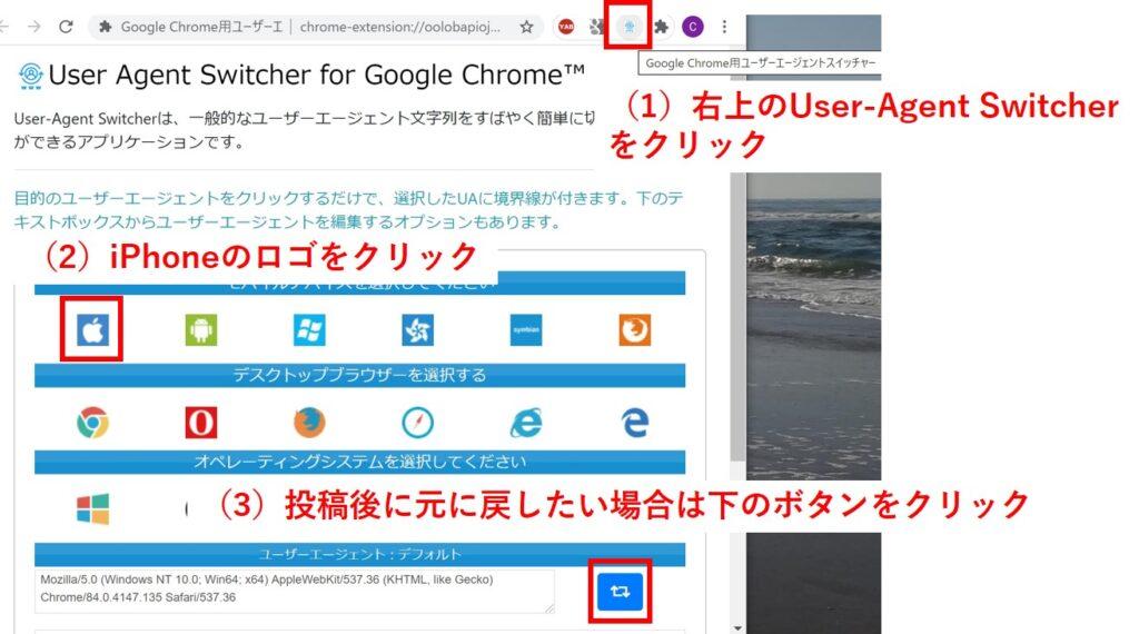User-Agent Switcher Google Chrome