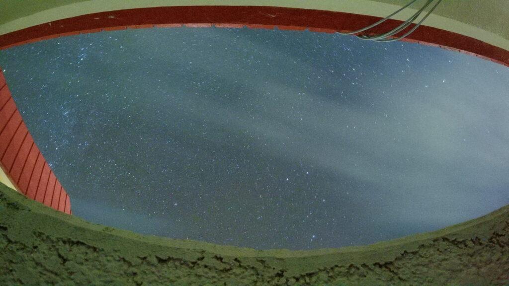 リードパークリゾート八丈島からの星空