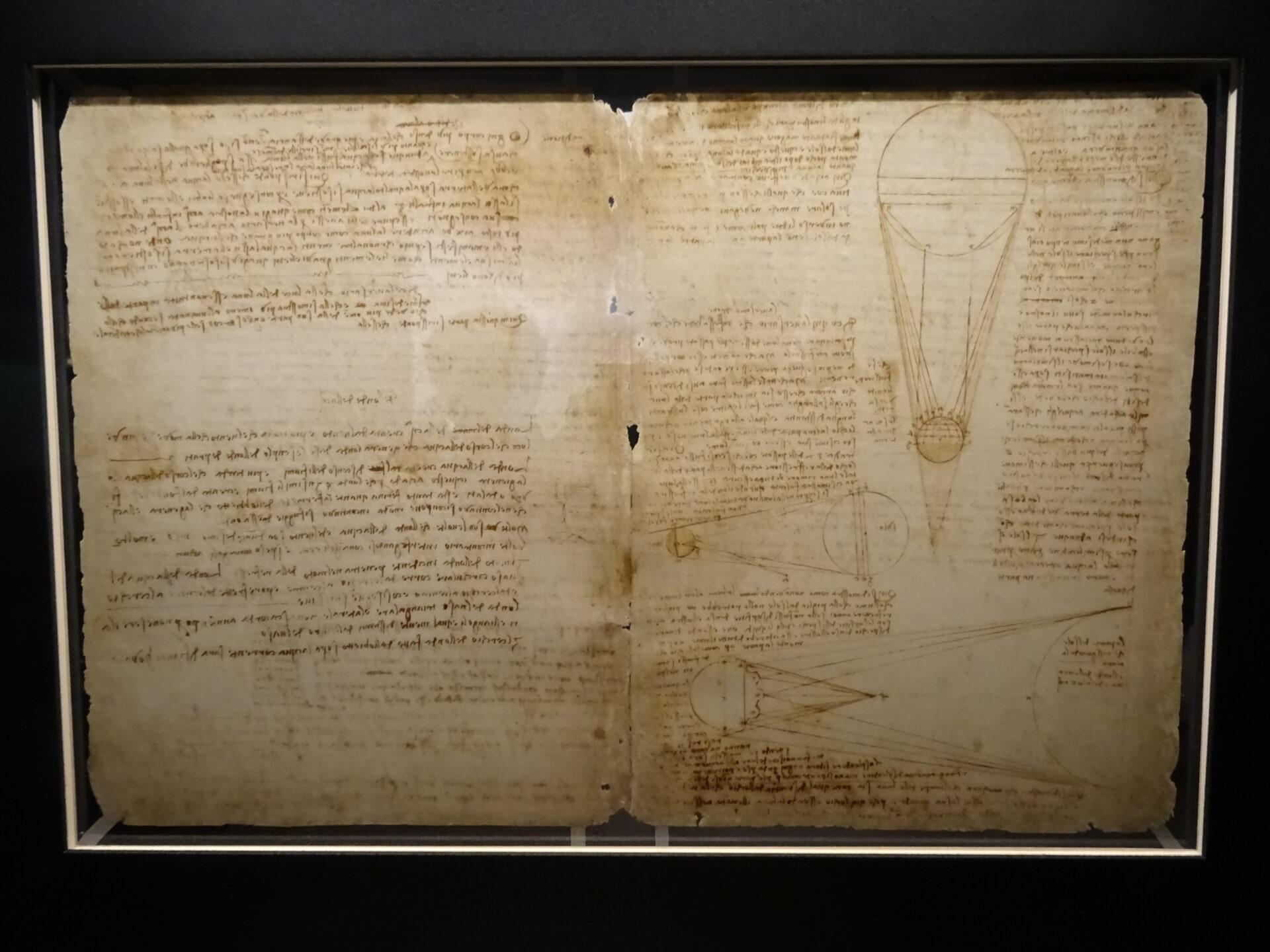レオナルド・ダ・ヴィンチ手稿3
